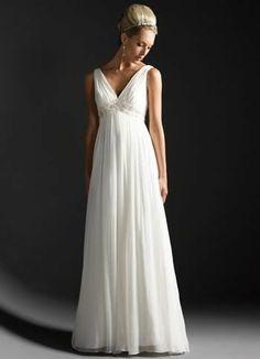 Noble Chiffon Maternity Dress Wedding Prom Gown Size 6 8 10 12 14 16 OR Custom   eBay