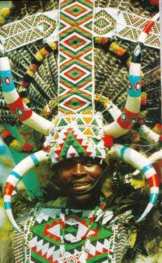 Zulu man, South Africa by june We Are The World, People Of The World, Pretoria, African Culture, African Art, African Beads, African Design, Jacob Zuma, Africa People