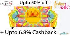 Get upto 50% off on furniture @pepperfry_official grand festive sale  get upto 6.8% extra cashback from us >> http://ift.tt/1UVUhJC  #prpperfry #furniture #furniturecashbackoffers #cashback #cashbackoffers #furnitureoffers