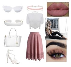 """Sugar"" by polethmercado ❤ liked on Polyvore featuring Alexander McQueen, Steve Madden, Miss Selfridge, Michael Kors, Elizabeth and James and Kylie Cosmetics"