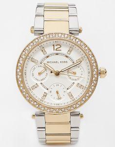 Image 1 of Michael Kors MK6055 Silver Parker Watch