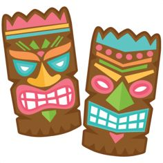 "NEW RELEASE!  *** Tiki Set *** Right now this is in the ""NEW SVGs""…"