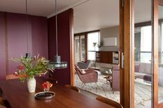 Retrouvius, Lauderdale Tower, Barbican, London, dining room, Remodelista