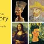Art History Memory Game with Free Printable