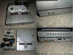 From $79 - Super #Nintendo #SNES Rgb Video Region Free Mod Custom #retrogaming #arcade