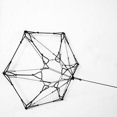 Tomas Saraceno edition - Network 5 - Available New Artists, Installation Art, Sculpture Art, Utility Pole, Google, Searching, Art Installation