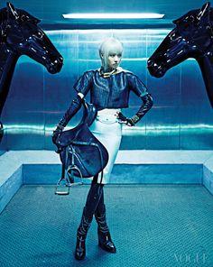 """The Black Stallion"" Vogue Korea"