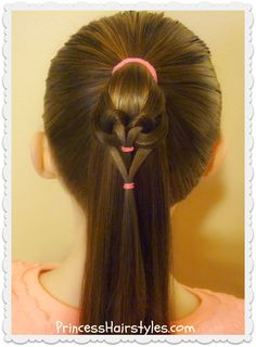 861 best Princess Hairstyles - How to hairstyles for girls images on ...