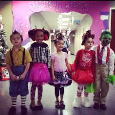 WhoVille Christmas or Halloween Costumes for kids