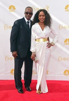 Angela Bassett & Courtney B. Vance | 18 Of Hollywood's Most Adorable Couples