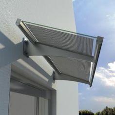 Solar panel hood
