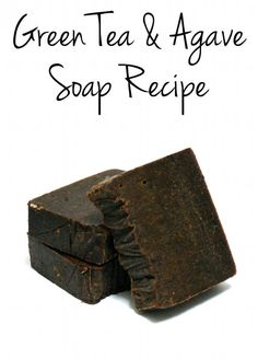 This green tea & agave homemade cold process soap recipe is formulated with skin conditioning oils and boasts the anti-oxidant power of natural green tea.