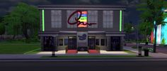 Brittpinkiesims: Cinema Lot and Custom Content • Sims 4 Downloads  Check more at http://sims4downloads.net/brittpinkiesims-cinema-lot-and-custom-content/