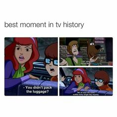 Scooby Doo is such a classic and this i so true!