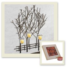 I love the Joshua Tree Wall Art (I have 2 to represent my family of 6) and the Cider & Spice is one of my favorite scents!!  Only $19.99, was 59.98.  www.athome.com/valhorner, under What's New.