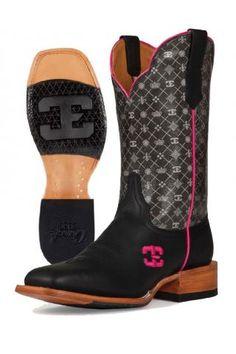 Women's Black Fifth Avenue Cinch Edge Boots Western Wear