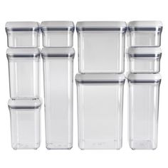 OXO 10-Piece Good Grips Pop Containers Set OXO http://www.amazon.com/dp/B00D78XB6M/ref=cm_sw_r_pi_dp_wX72tb06A8RZ82WF