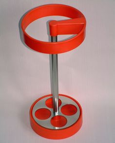 eBay watch: 1960s orange umbrella stand