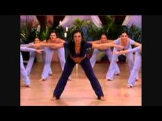 Part 1. Belly dance yoga fusion with Suhaila Salimpour. 15 min.