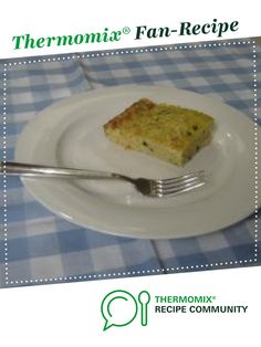 Zucchini Slice by ditompsett. A Thermomix <sup>®</sup> recipe in the category Baking - savoury on www.recipecommunity.com.au, the Thermomix <sup>®</sup> Community.