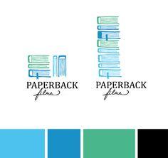 I love this logo! Emma Robertson for Paperback Films....