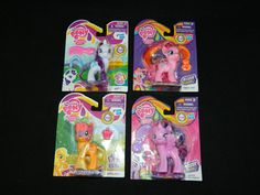 My Little Pony G4 FiM Lot of 4 Mint In Box MIP [1c] #Hasbro
