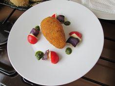 Croquette  de  riz   au Norma  Gino D'Aquino