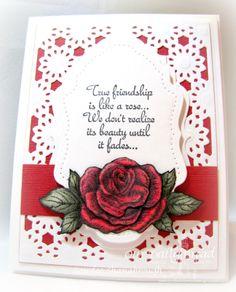 Simply Southern Sandee: Like a Rose...