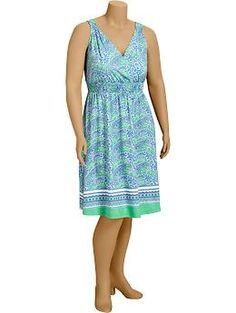 SOOO CUTE!! - Cross-Front Jersey Dresses | Old Navy