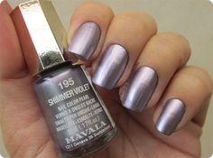 Mavala Nail Polish, Violet Nails, Nail Colors, Hair Makeup, Pearls, Blog, Image, Beauty, Creative Nails