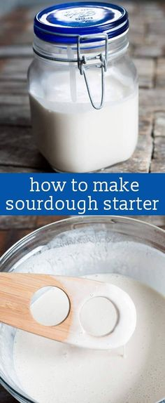 If you've ever wondered how to make sourdough starter, here is the easy way! Just 3 ingredients and 5 minutes and you are on your way to sourdough bread, pancakes, cakes and more. via @tastesoflizzyt