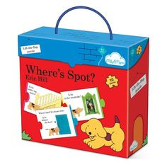 Kids love Spot so make the story even more fun with this Where's Spot? Lift the flap puzzle.