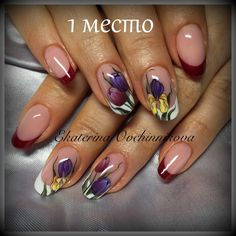 love these nails Fancy Nails, Cute Nails, Pretty Nails, Fabulous Nails, Gorgeous Nails, Beautiful Nail Art, Beautiful Nail Designs, Nail Manicure, Gel Nails