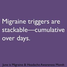 Migraine & Headache Awareness Month 2013 infographic
