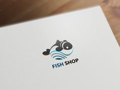 FISH SHOP logotype by Graphicshop on Creative Market
