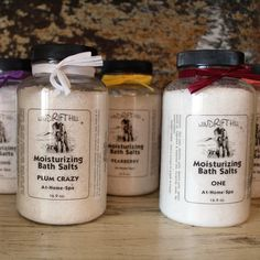 Hand Crafted Bath Salts – Southern Mess Boutique