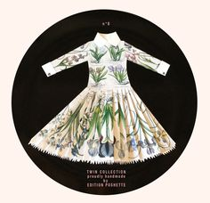 A collection of Paperdresses created by Edition Poshette for And Company
