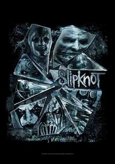 Drapeau SLIPKNOT - Broken Glass - http://rockagogo.com