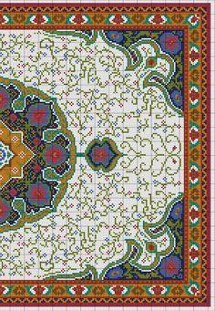 Gallery.ru / Фото #2 - Floral Carpet (Latch Hook) - azteca
