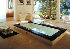 Ванна в полу – фото, советы >> Ванная плюс