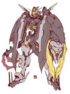 Mech design by @kanesys Inspired from Gundam Deathscythe Hell, Gundam Gamigin's name was derived from the name of Marquis Gamigin, al...