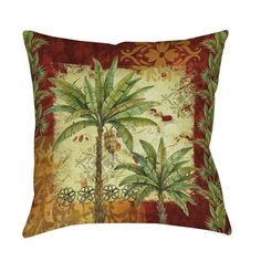 Shop for Thumbprintz Palm Patterns Decorative Throw Pillow. Free Shipping on orders over $45 at Overstock.com - Your Online Home Decor Outlet Store! Get 5% in rewards with Club O!