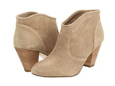 $40 Beige ankle boots