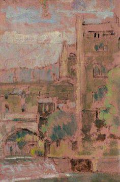 Walter Richard Sickert - Part of Pulteney Bridge, Bath