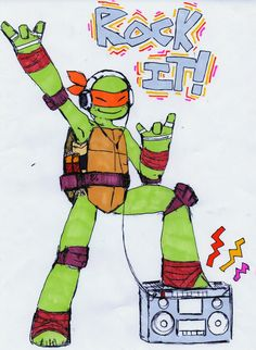 Mikey Rockin by ~ActionKiddy on deviantART