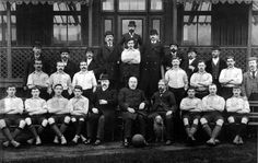 One of the very earliest known images of the newly created Liverpool Football Club...exact date of the picture is unknown but thought to have been between June and August 1892.