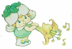 Mint Tulip - Baby Blowing Horn