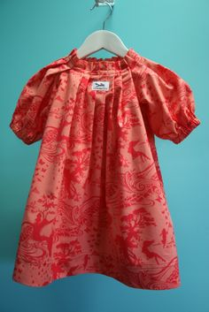 Five and Counting..... Clever Charlotte Wren Dress pattern.