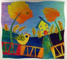 House in the Valley #5 by Laura Wasilowski from Artfabrik