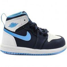 2359f0a7335 Jordan Air Jordan 1 High Lifestyle Shoes (Blue White) at Shoe Palace